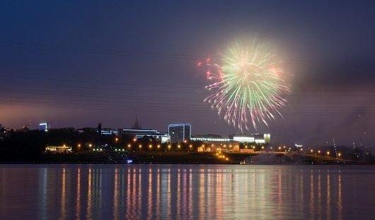 В праздновании Дня России участвовало более 40 тысяч человек Удмуртии