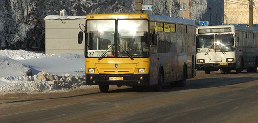 В Ижевске в новогодние праздники изменится расписание автобусов