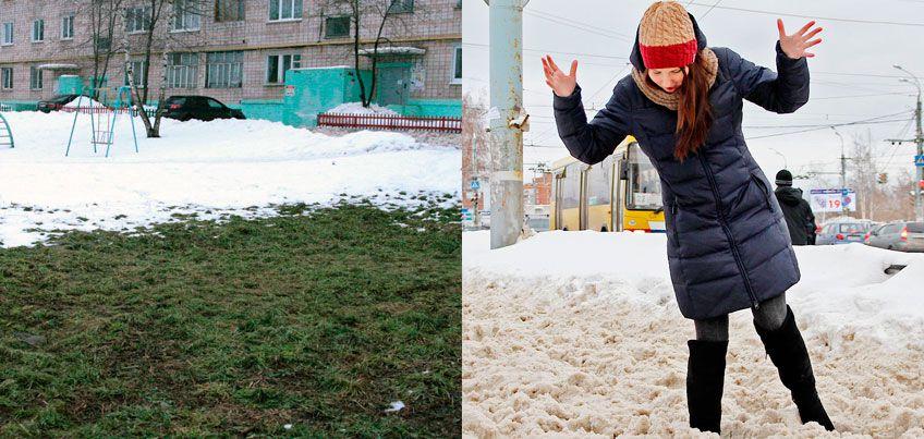 Холодный декабрь в Ижевске: живописный пар от ТЭЦ и утепленные собаки