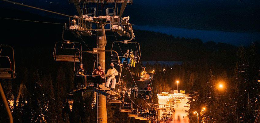 В «Нечкино» со 2 по 7 января будут работать трассы для вечернего катания