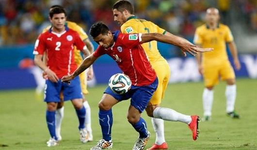 ЧМ-2014: сборная Чили выиграла у Австралии со счетом 3:1