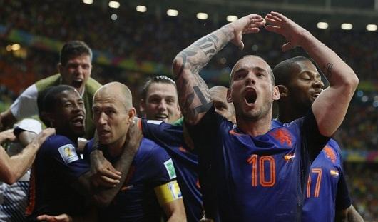 ЧМ-2014: Голландия разгромила Испанию