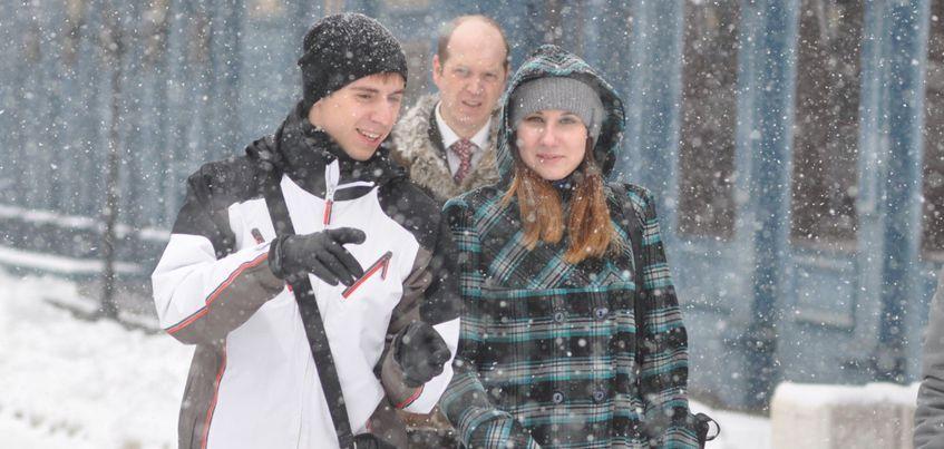 Первая неделя января будет в Ижевске пасмурной и снежной