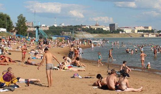 7 пляжей официально открыли в Удмуртии