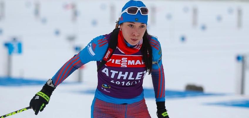 Биатлонистка из Удмуртии Ульяна Кайшева на Кубке мира в спринте показала 27-й результат