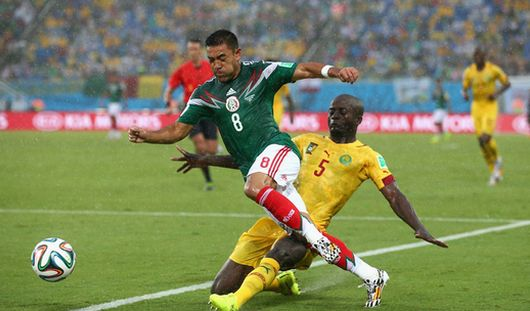 ЧМ-2014: Мексика выиграла у Камеруна со счетом 1:0