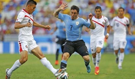 ЧМ-2014: Уругвай уступил Коста-Рике