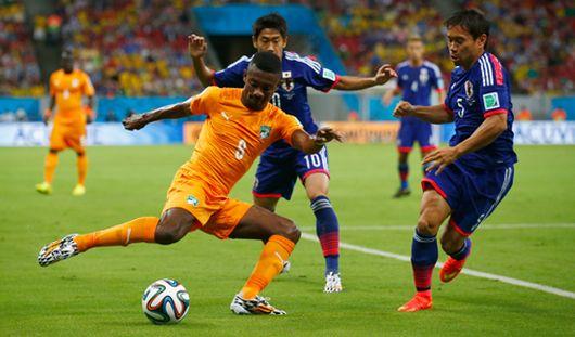 ЧМ-2014: Кот-д`Ивуар обыграл Японию