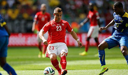 ЧМ-2014: Швейцария обыграла сборную Эквадора