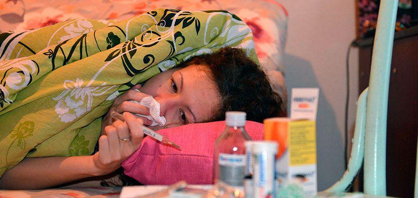 В первую неделю 2017 года у 90% заболевших гриппом выявлен штамм «Гонконг»