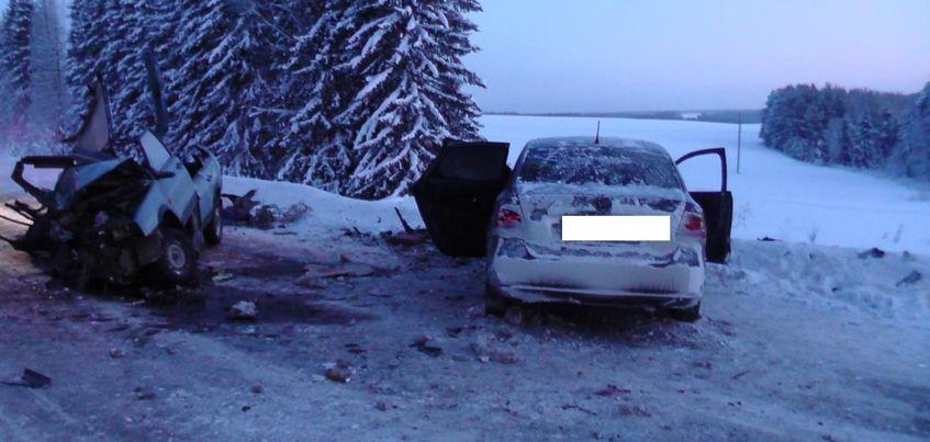 21-летняя жительница Удмуртии спровоцировала смертельное ДТП в Пермском крае