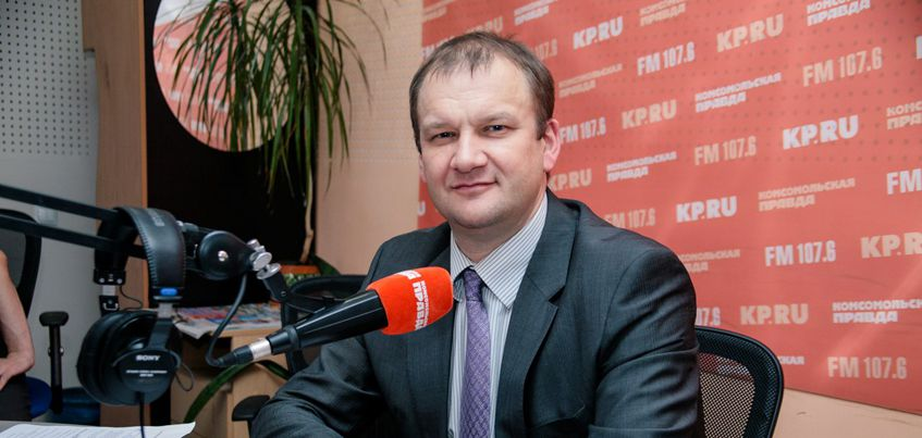 В эфире радио «Комсомольская правда» - Ижевск» побеседуют с председателем Городской Думы Ижевска Олегом Гариным