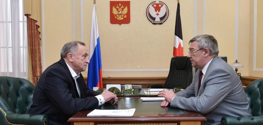 Глава Удмуртии поручил разработать техрешения по системе водоотведения на Партизанской