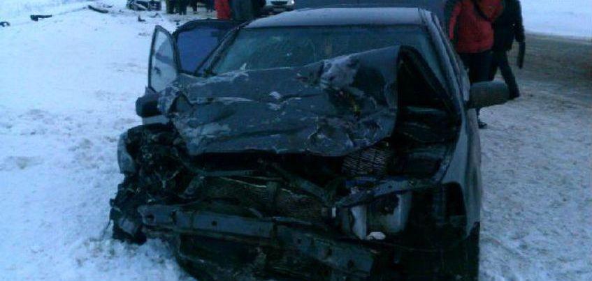 В сети появилось видео страшной аварии на трассе Удмуртии