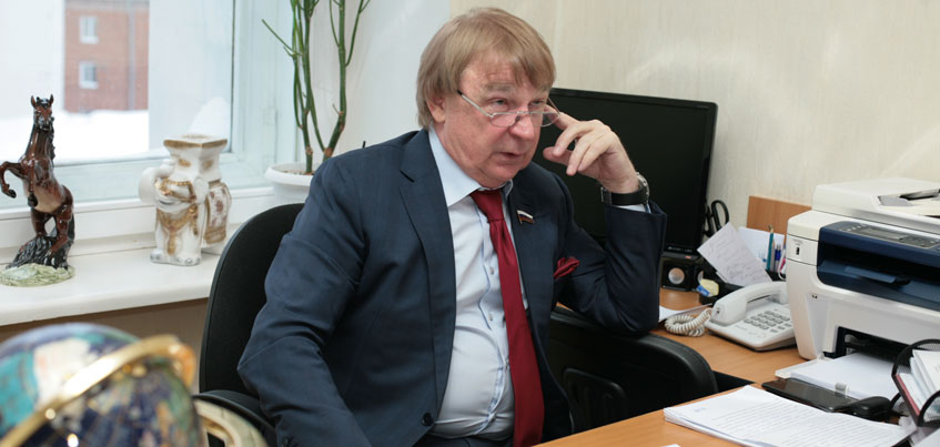 Депутат Госдумы Валерий Бузилов: В Москве я в командировке, жить буду в Ижевске!