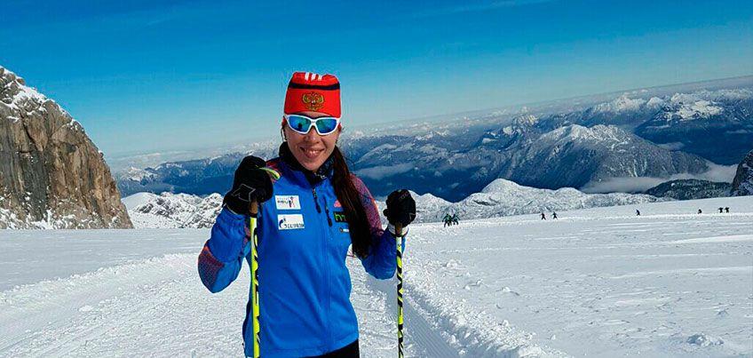 Ульяна Кайшева в составе сборной России заняла 13 место в эстафете на этапе Кубка Мира