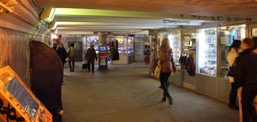 В Ижевске в микрорайоне «Север» уберут торговые киоски в подземном переходе