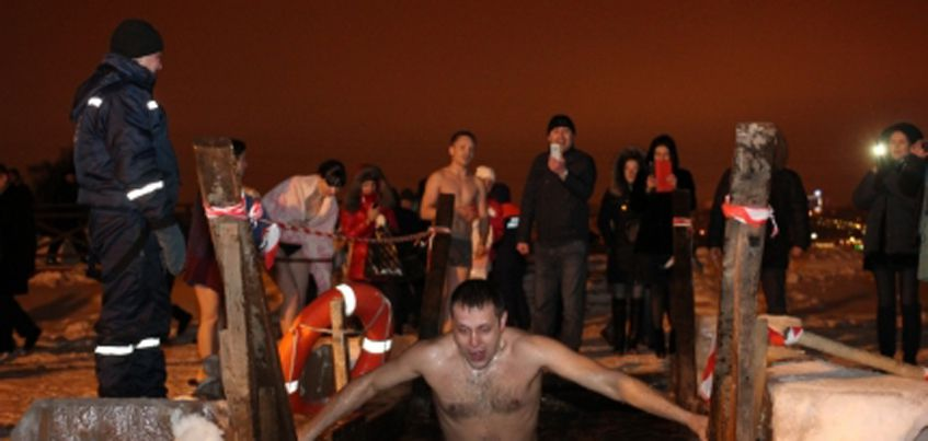В 2017 году традиционным местом для крещенских купаний вновь станет Ижевский пруд