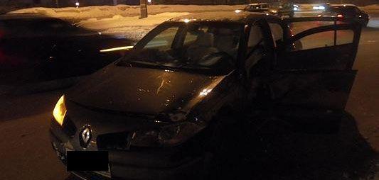 В ГИБДД Удмуртии подтвердили, что водитель, по вине которого в ДТП пострадала женщина, был пьян