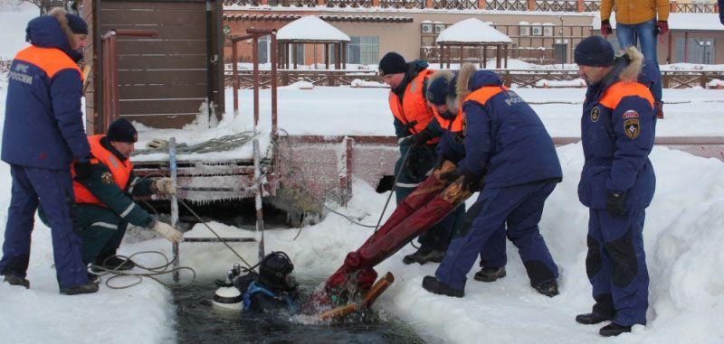 МЧС Удмуртии провели учения на Ижевском водохранилище