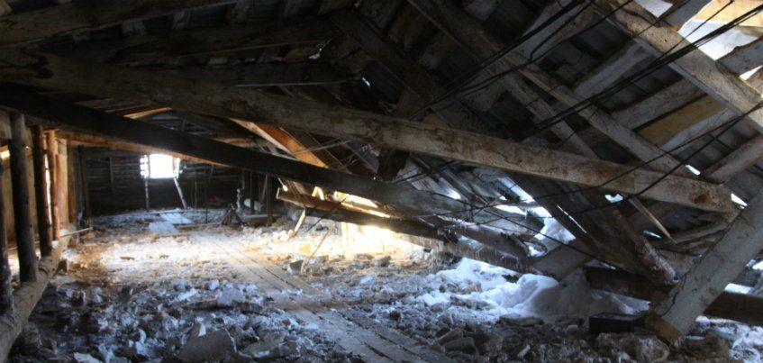 До 27 января должны отремонтировать обвалившуюся крышу в Ижевске