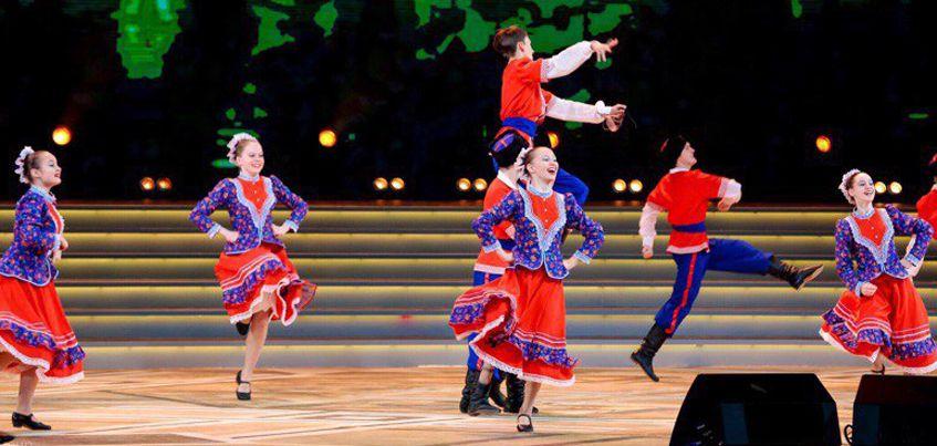 Ижевский театр танца «Веснушки» выступил на сцене Кремля со звездами российской эстрады