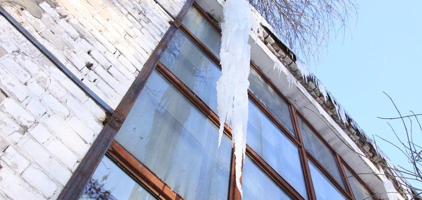 Общественники в Удмуртии проверят, как убирают снег и сосульки с крыш домов