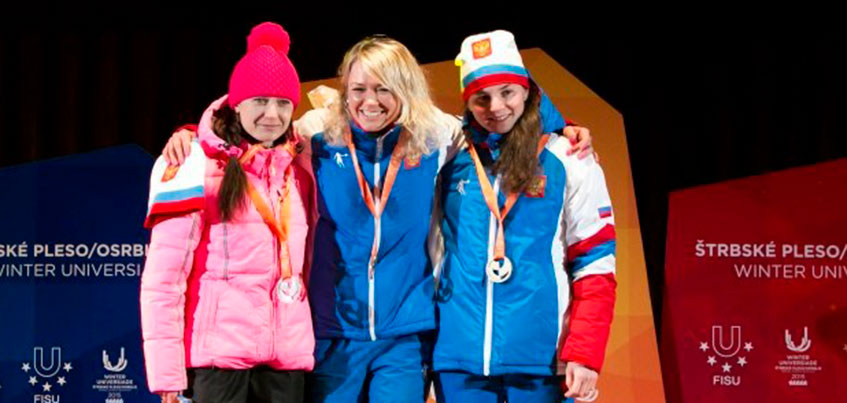 Лыжница из Удмуртии Лилия Васильева выступит на Всемирных студенческих играх