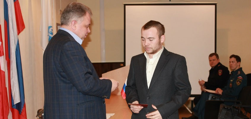 Ижевчанина наградили медалью за участие в военной операции в Сирии