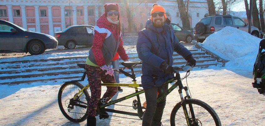 В Ижевске состоится  второй зимний велопарад