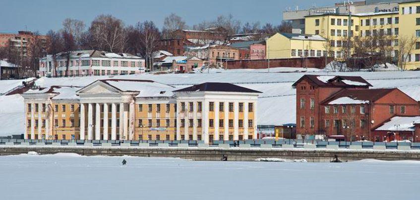 Здание бывшего ижевского  индустриального техникума выставили на продажу