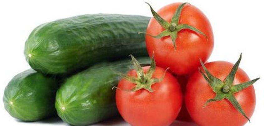 В Удмуртии за неделю подорожали свежие огурцы и помидоры