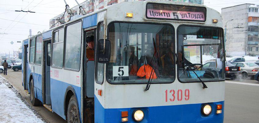 В Ижевске может возобновить работу троллейбусный маршрут №5