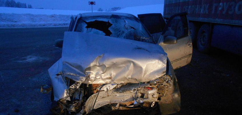 В Удмуртии в ДТП пострадали пять человек
