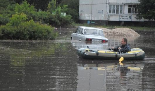 Дурацкий вопрос: грозит ли Ижевску наводнение, как в Ульяновске