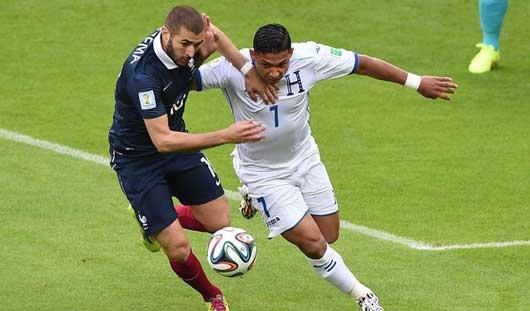ЧМ-2014: Франция с легкостью обыграла команду Гондураса