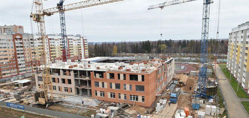 Школу в микрорайоне «Столичный» в Ижевске откроют 8 февраля