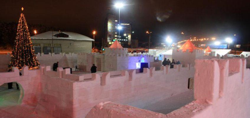 Ижевчане смогут бесплатно посетить ледовый городок «Сказбург»