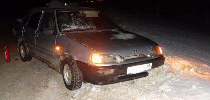 В Удмуртии водитель легковушки сбил двух женщин