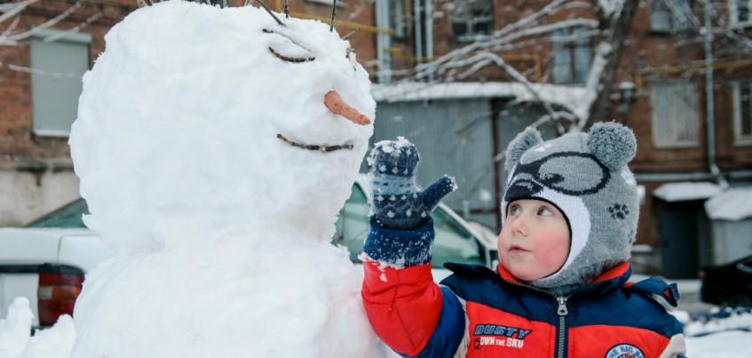 В Ижевске в выходные ожидается небольшое потепление