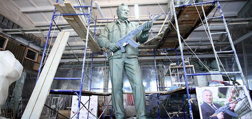 Фото: Каким будет памятник ижевскому оружейнику Михаилу Калашникову?