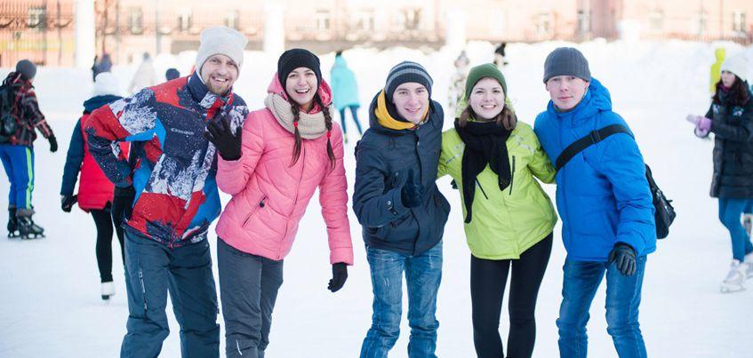 В Ижевске вновь состоится дискотека на коньках в честь Дня всех влюбленных
