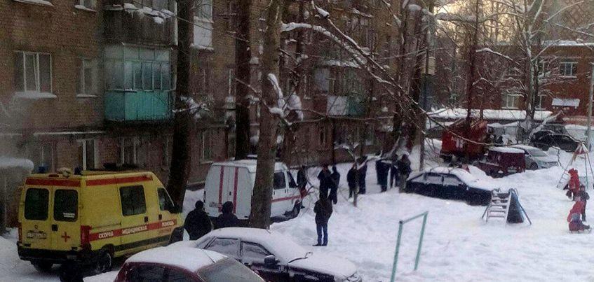 В Ижевске на улице Воткинское шоссе деформировалась стена многоэтажки