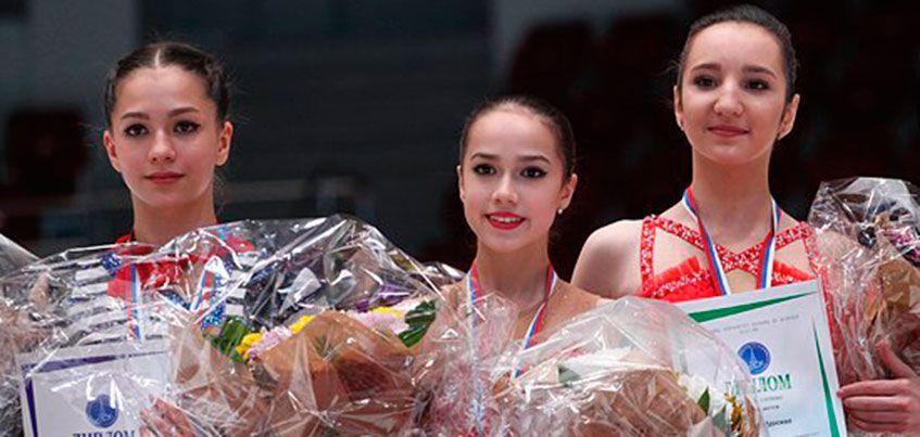 Ижевчанка Алина Загитова стала победительницей первенства России по фигурному катанию