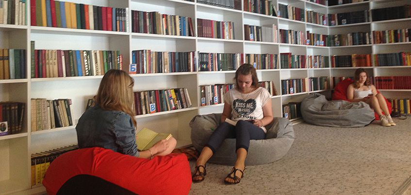 В Ижевске открывается первая модельная школьная библиотека