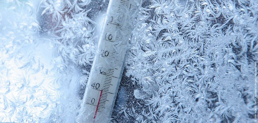 В ночь на 8 февраля в Удмуртии похолодает до -30°С