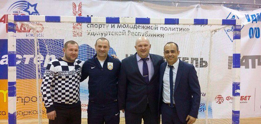 Бразильский тренер сыграл в Чемпионате Удмуртии по мини-футболу