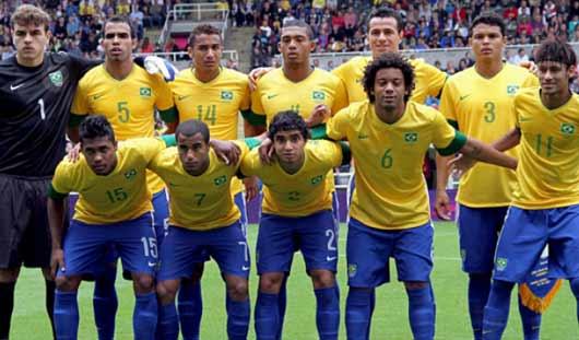 ЧМ-2014: команда Мексики выстояла в игре с Бразилией и закончила матч вничью
