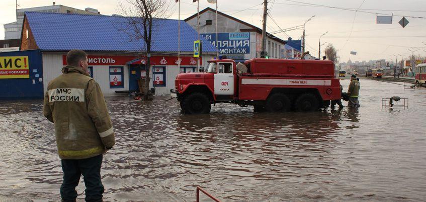 В эфире радио «Комсомольская правда»-Ижевск»: ждет ли Удмуртию сильный паводок?