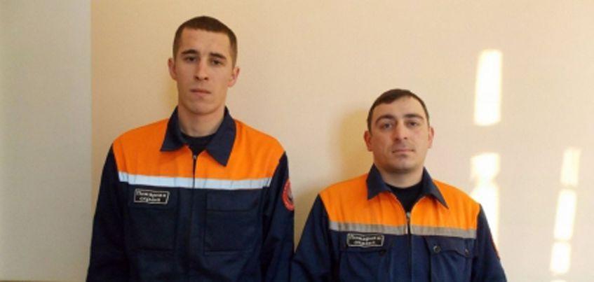 Будущие спасатели Удмуртии помогли выбраться из перевернувшегося авто двум  пострадавшим